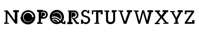 Slug Bug Filled Regular Font UPPERCASE