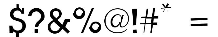 Slug Bug Open Regular Font OTHER CHARS