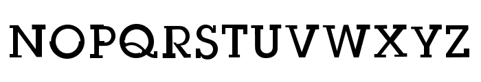 Slug Bug Open Regular Font UPPERCASE