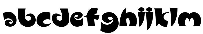 Slugfest NF Font LOWERCASE