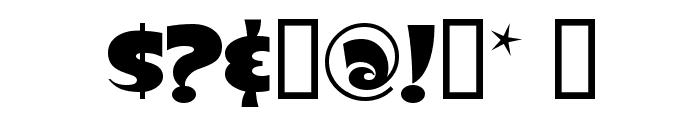 Slugfest Font OTHER CHARS