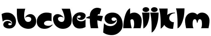 Slugfest Font LOWERCASE