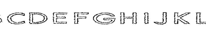 Slur Crumb Font UPPERCASE