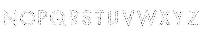 Slur Crumb Font LOWERCASE