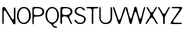Slurry Font UPPERCASE