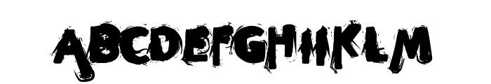 sleeperzzzz Font UPPERCASE