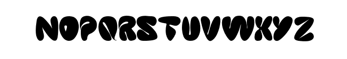 sleeping beauty Font LOWERCASE