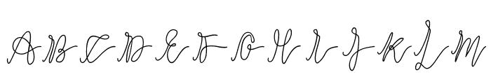 slowdance Font UPPERCASE