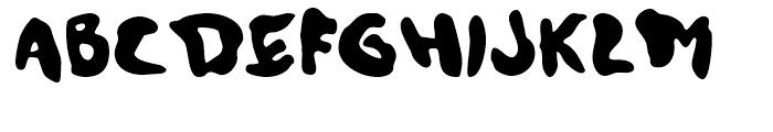 Slacker Regular Font UPPERCASE