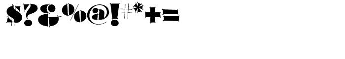 Slapdash Deco NF Regular Font OTHER CHARS