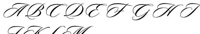Sloop Script Medium Three Font UPPERCASE