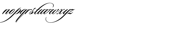 Sloop Script Medium Three Font LOWERCASE