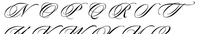 Sloop Script Medium Two Font UPPERCASE