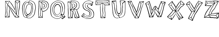 Sluggo Open Font UPPERCASE