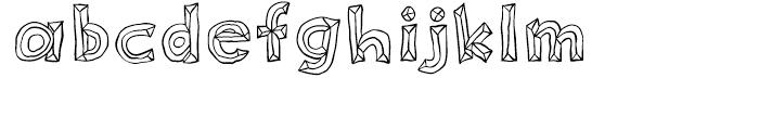 Sluggo Open Font LOWERCASE