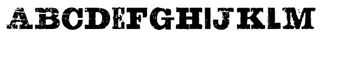 Sluicebox Regular Font LOWERCASE