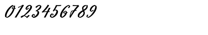 Slutsker Script Bold Font OTHER CHARS