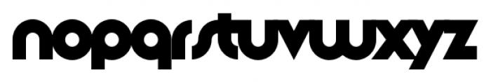 Slug Single Font LOWERCASE