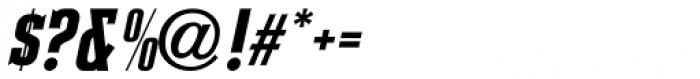 Slab Compact JNL Oblique Font OTHER CHARS