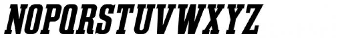 Slab Compact JNL Oblique Font LOWERCASE