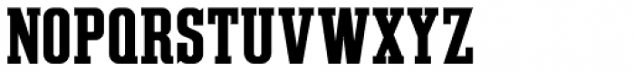 Slab Compact JNL Regular Font UPPERCASE
