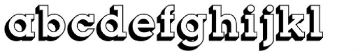 Slab Happy 3D Font LOWERCASE