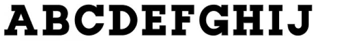 Slab Happy Bold Font UPPERCASE