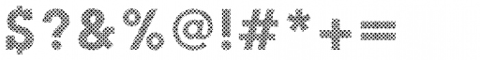 Slab Happy Crosshatch Font OTHER CHARS