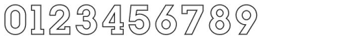 Slab Happy Outline Font OTHER CHARS