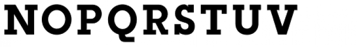 Slab Happy Regular Font UPPERCASE
