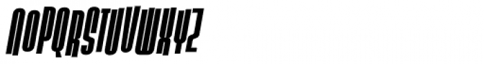 Slack Casual Bold Italic Font UPPERCASE