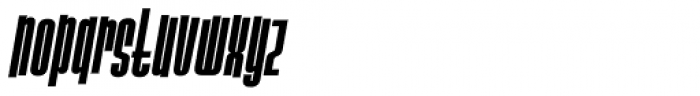 Slack Casual Bold Italic Font LOWERCASE