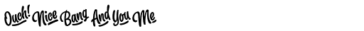 Slacker Extras Font OTHER CHARS