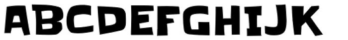 Slackey Pro Font UPPERCASE