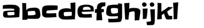 Slackey Pro Font LOWERCASE
