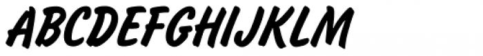 Slager Font UPPERCASE