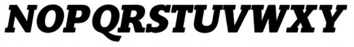 Slam Oblique Extra Bold Rounded Font UPPERCASE