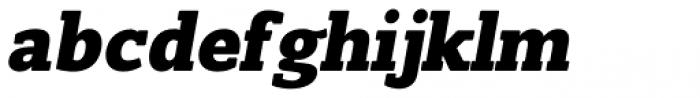 Slam Oblique Extra Bold Rounded Font LOWERCASE