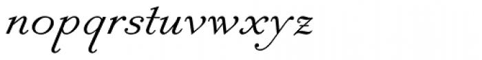 Slanted Antique Pro Roman Font LOWERCASE
