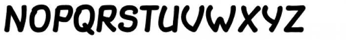 Slantinel Bold Clean Font UPPERCASE