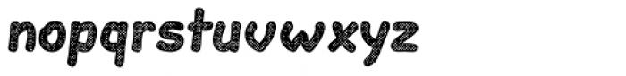 Slantinel Bold Grid Font LOWERCASE