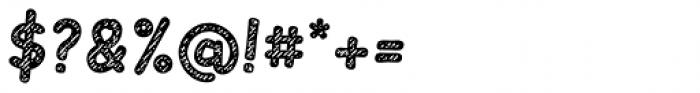 Slantinel Bold Lines Font OTHER CHARS