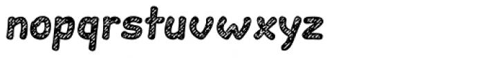 Slantinel Bold Lines Font LOWERCASE