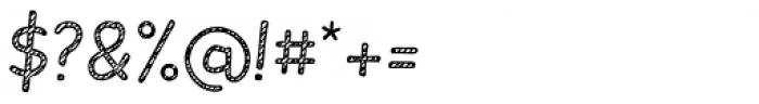 Slantinel Light Lines Font OTHER CHARS