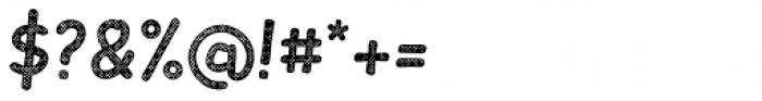 Slantinel Medium Grid Font OTHER CHARS