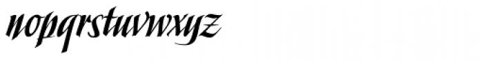 Slapjack Font LOWERCASE