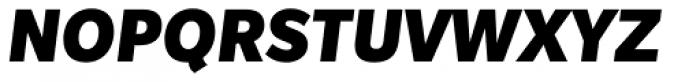 Slate Pro Black Italic Font UPPERCASE