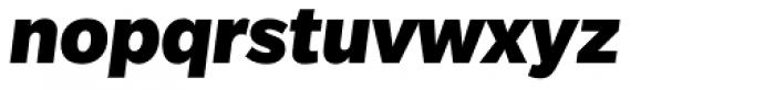 Slate Pro Black Italic Font LOWERCASE