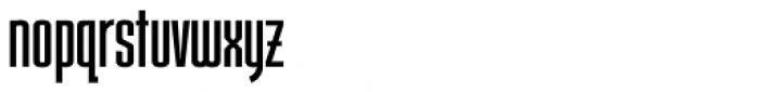 Slatz Regular Font LOWERCASE