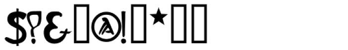 Slava Font OTHER CHARS